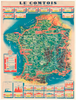 1949 Tour De France Original Vintage Bicycle Poster
