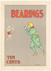 Bearings - Ten Cents Original Vintage Bicycle Poster