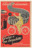 Grace a ma Bicyclette Original Vintage Bicycle Poster