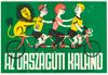 The Bicycle Tamers Original Vintage Bicycle Poster