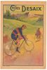Cycles Desaix Original Vintage Bicycle Poster