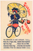 New York Sunday World Original Vintage Bicycle Poster