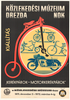 Cycle Expo Hungary Original Vintage Bicycle Poster