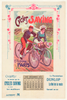 Cycles Saving Original Vintage Bicycle Poster by P. Chapellier