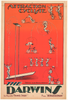 The Darwins Original Vintage Bicycle Poster by Harford