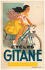 Cycles Gitane Original Vintage Bicycle Poster