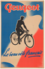 Peugeot Le beau Original Vintage Bicycle Poster