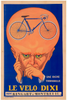 Le Velo Dixi Original Vintage Bicycle Poster