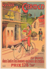 Cycles Carmen Original Vintage Bicycle Poster by Marodon