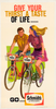 Schmidt's of Philadelphia Original Vintage Bicycle Poster