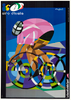 Giro d'Italia 2002 Vintage Bicycle Race Poster