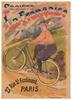 Societe La Francaise Original Vintage Bicycle Poster