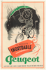Peugeot Inoxydable Original Vintage Bicycle Poster