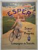 Esper Original Vintage  Bicycle Poster