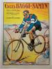 Cycles Baggi-Samyn Original Vintage  Bicycle Poster by Faria