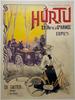 Hurtu Original Vintage Bicycle Poster by H Gray
