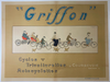Griffon Cycles Original Vintage  Bicycle Poster by Matet