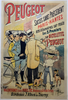 Peugeot Succes Original Vintage  Bicycle Poster by Guillaume