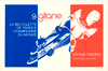 Gitane World Champions Original Vintage Bicycle Poster
