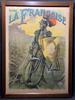 Societe La Francaise Knight Original Vintage  Bicycle Poster by PAL