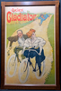 Cycles Gladiator Original Vintage  Bicycle Poster by Misti