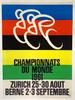 1961 World Championships Original Vintage Bicycle Poster