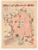 1957  Tour De France Original Vintage Bicycle Poster