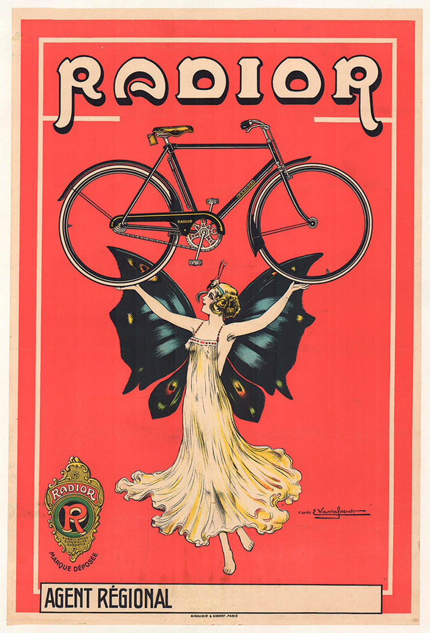 Radior Vintage Bicycle Poster by Vavasseur