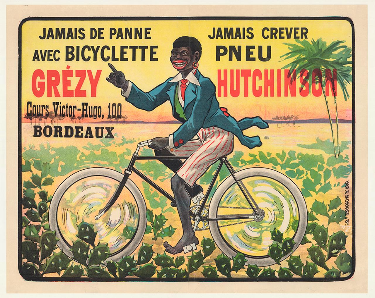 Grezy Hutchinson Original Vintage Bicycle Poster