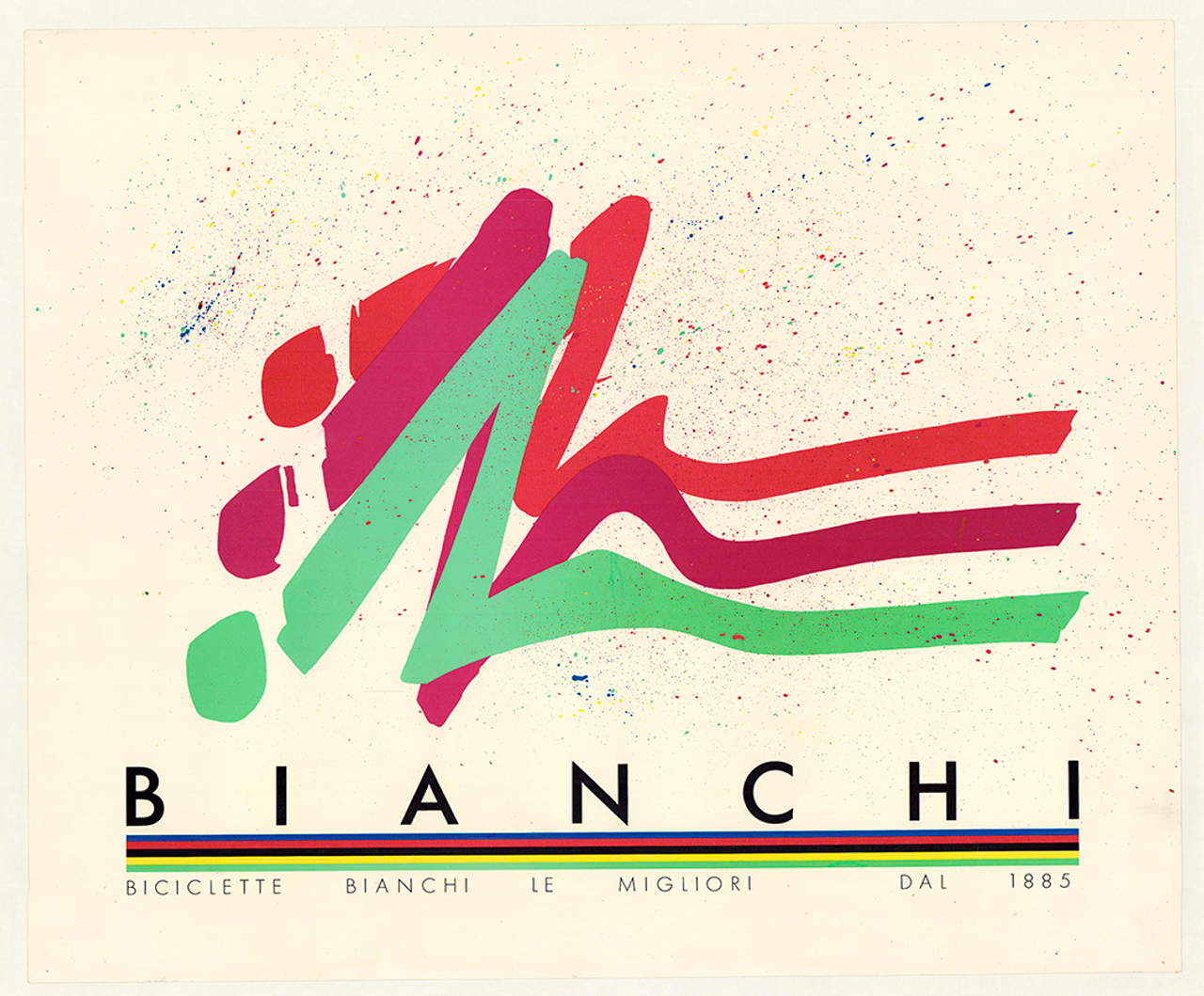 Bianchi Original Vintage Bicycle Poster