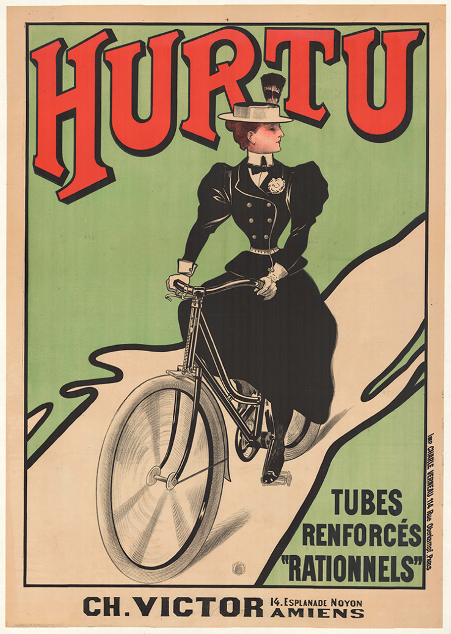 Hurtu Original Vintage Bicycle Poster