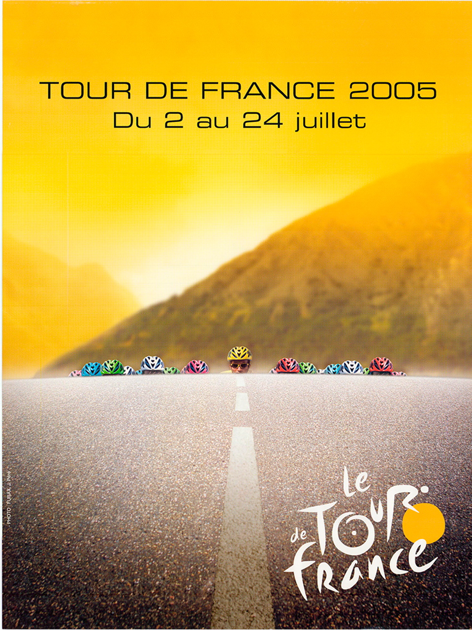 2005 Tour de France Original Vintage Bicycle Poster