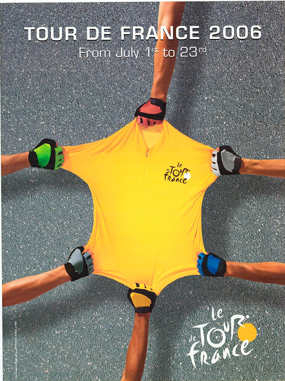 2006 Tour de France Original Vintage Bicycle Poster