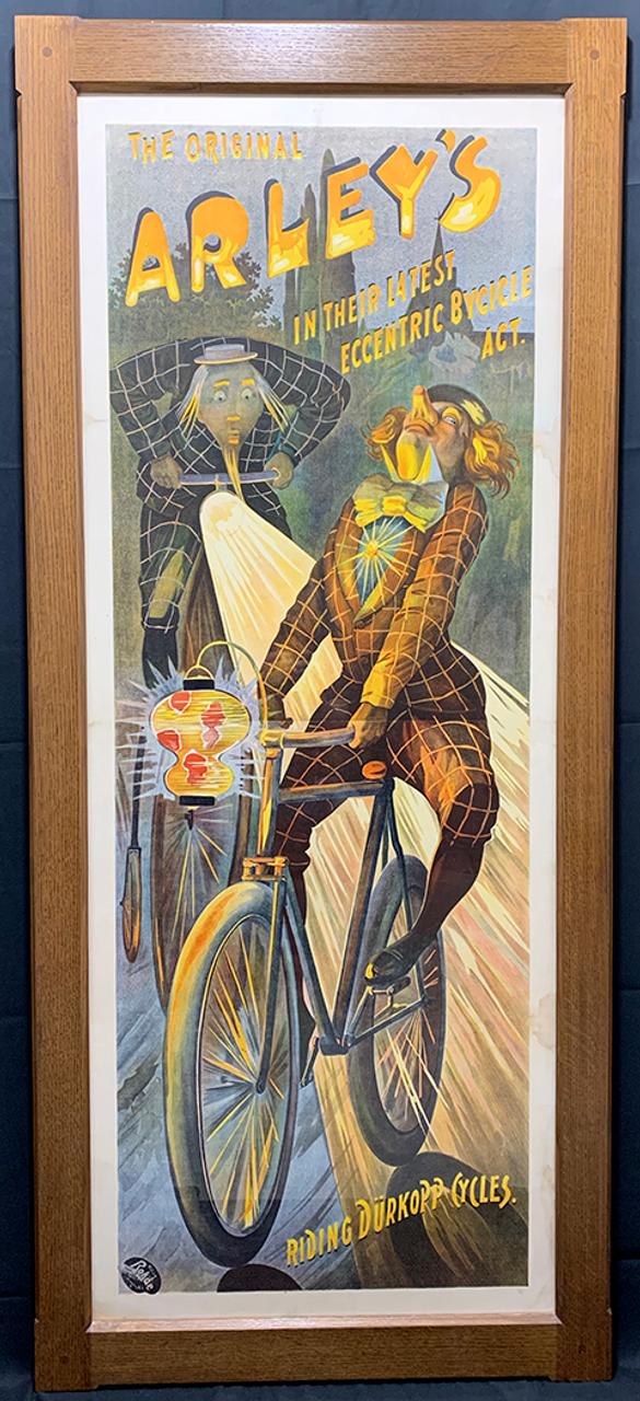 The Original Arley's Original Vintage  Bicycle Poster by Rhode