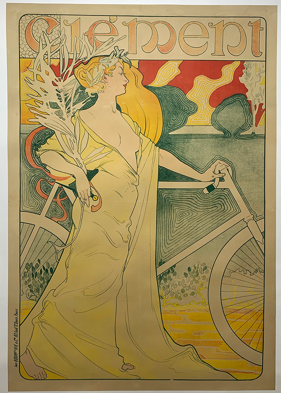 Clement Original Vintage Bicycle Poster