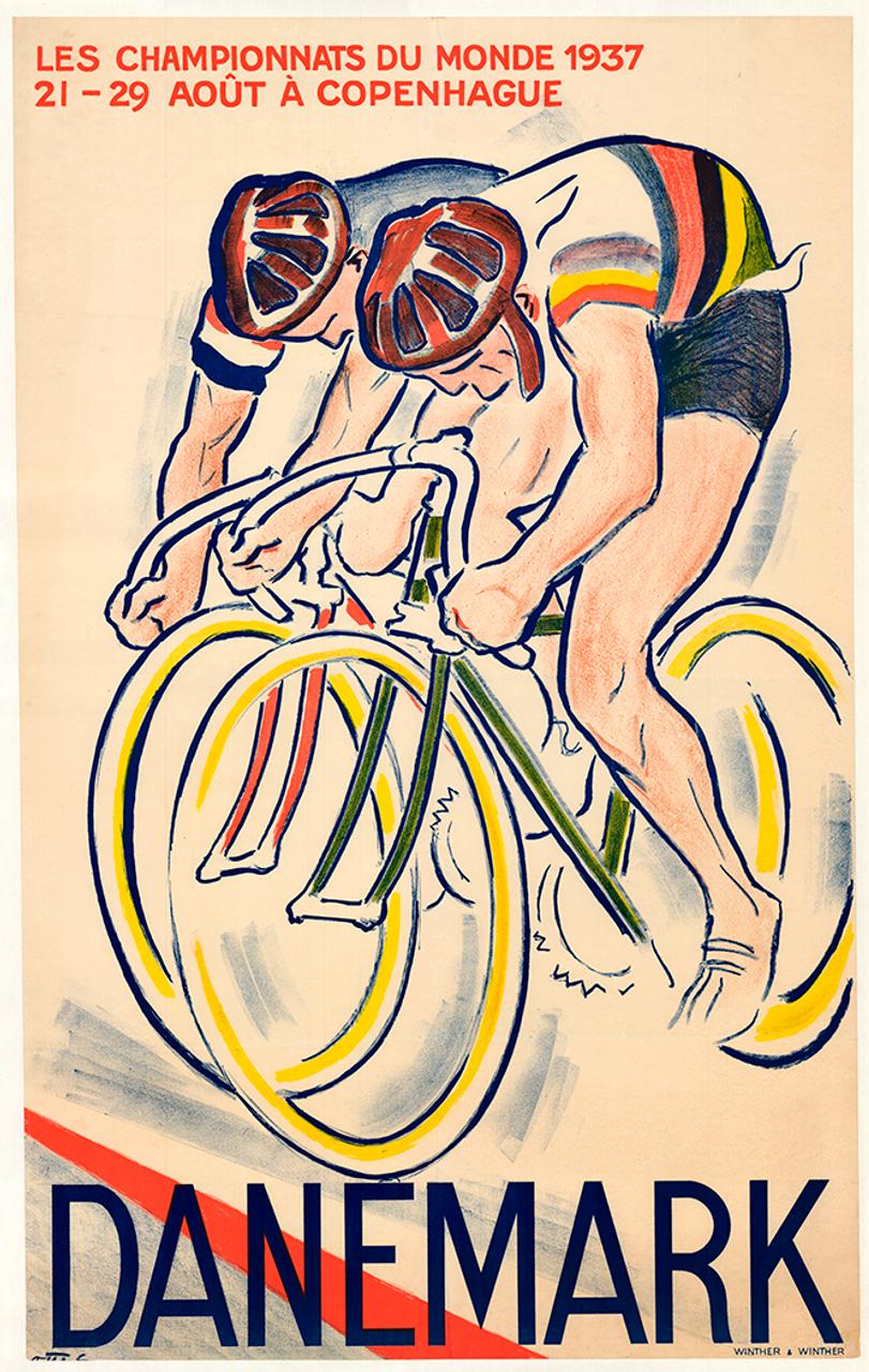 The 1937 World Road Cycling Championships - Copenhagen Denmark