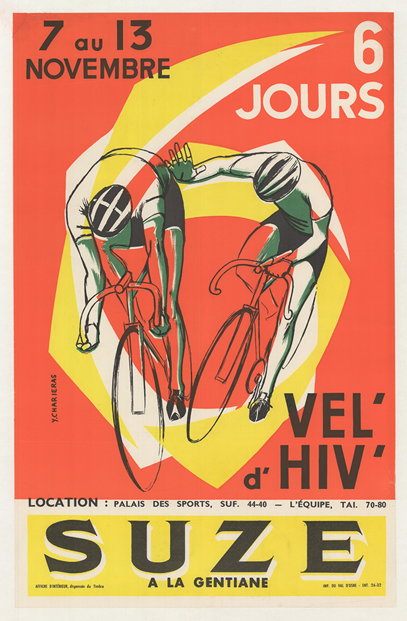 Suze 6-day Race Original Vintage Bicycle Poster