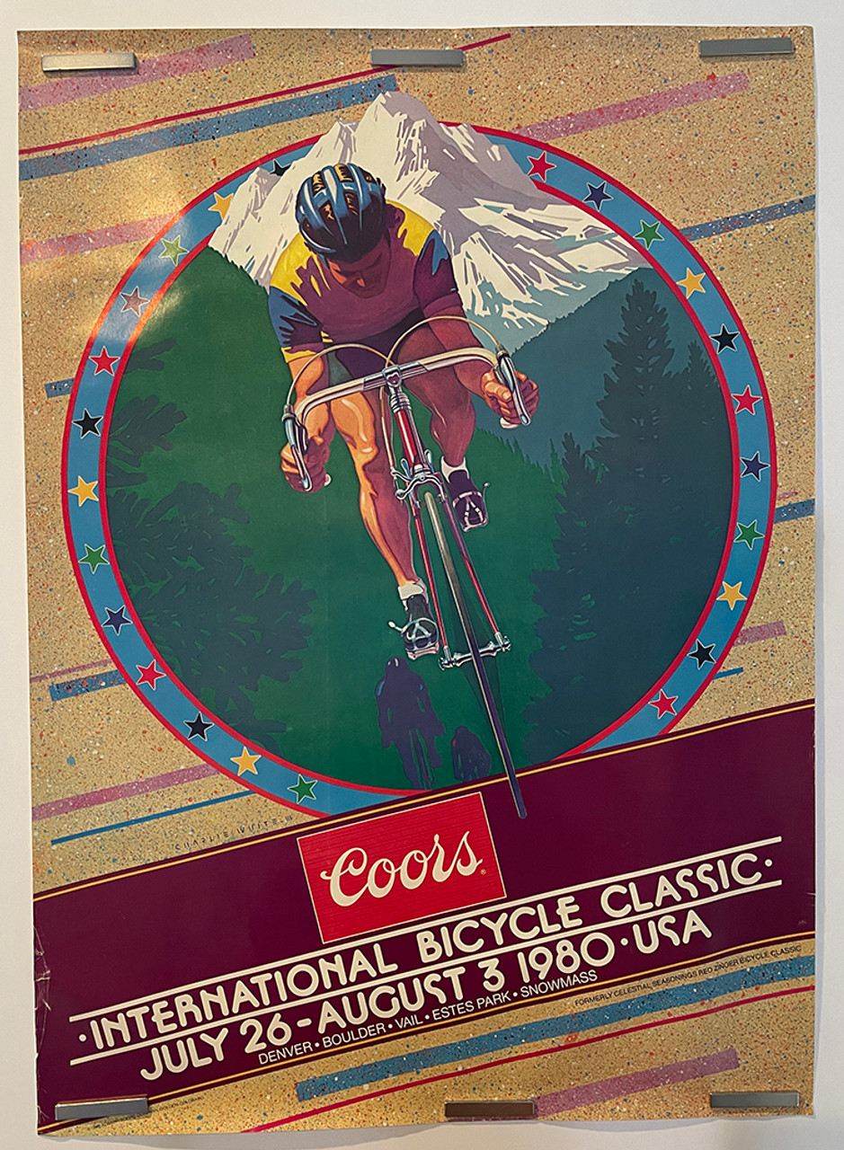 1980 Coors Classic Original Vintage Bicycle Poster
