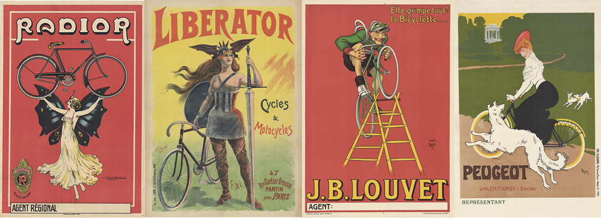 Original Vintage Bicycle Posters