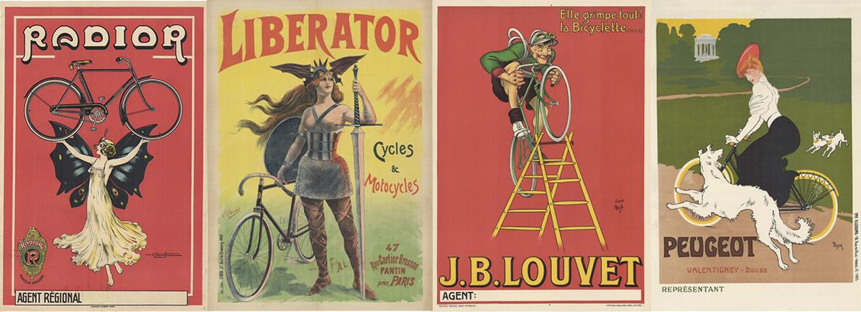 Original Vintage Bicycle Posters