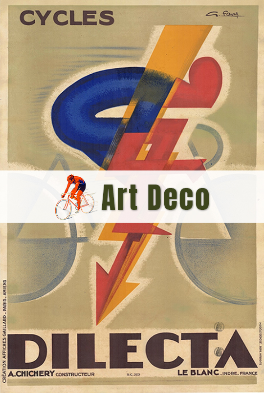 Art Deco - Bicycle Posters