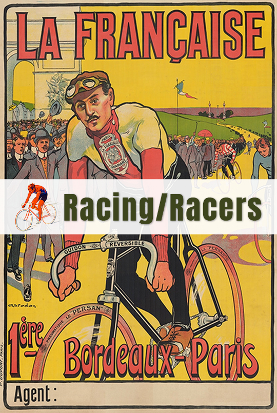 Racing & Racers - Bicycle Posters