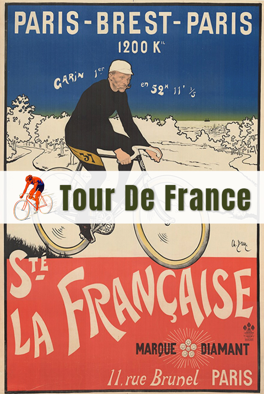 Tour De France - Bicycle Posters