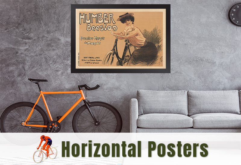 Horizontal Bicycle Posters