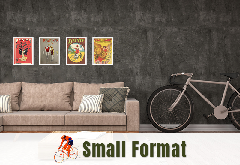 Small Format Bicycle Posters
