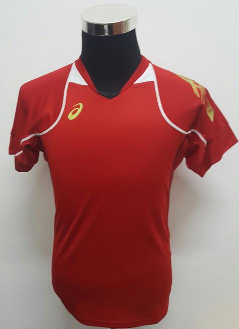 ASICS Blade Half-Sleeves Shirt (Red)