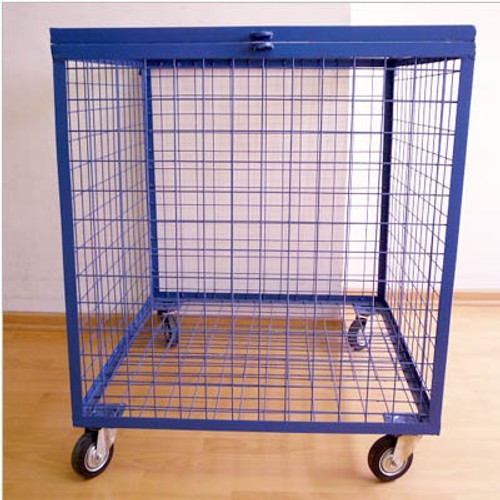 Steel Ball Cart with Caster wheel