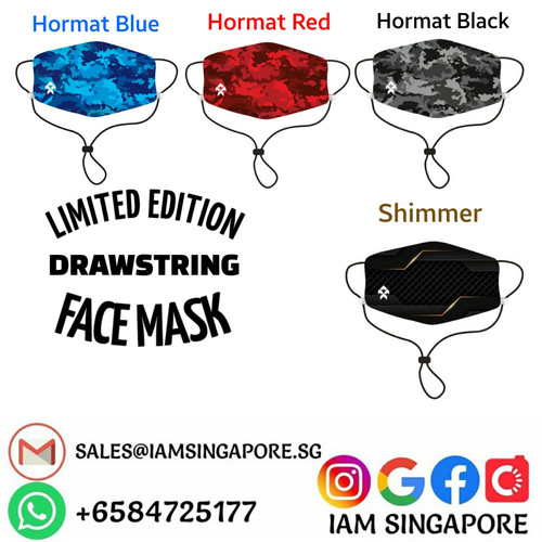 DrawString Face Mask