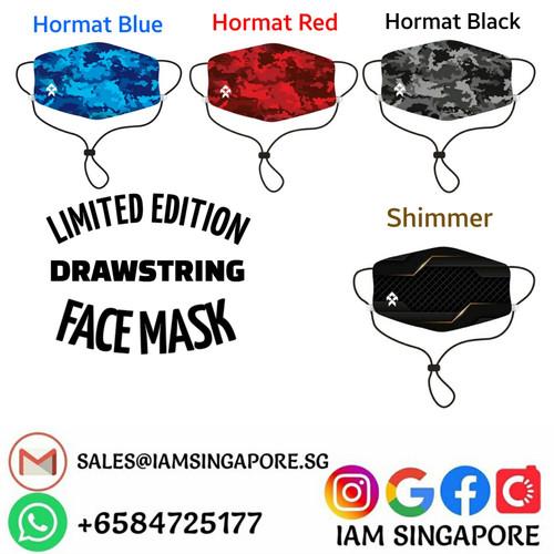 DrawString Face Mask