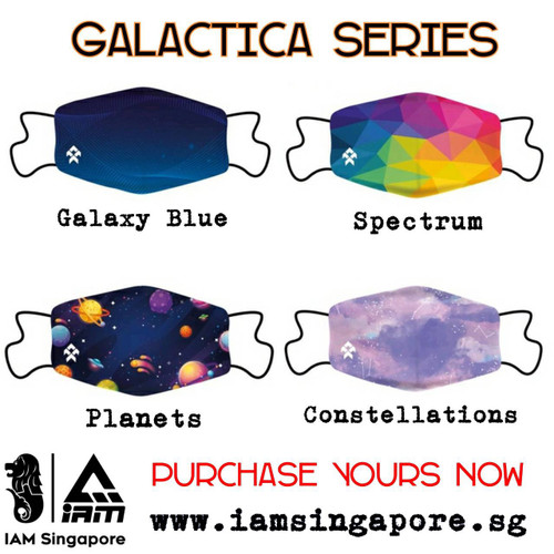 Galactica Hoop Face Mask Collection